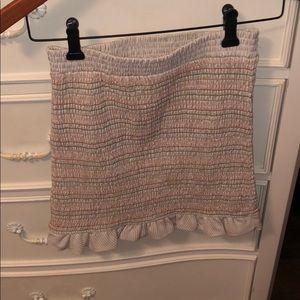 Ruby and Jenna Form Fitting Mini Skirt